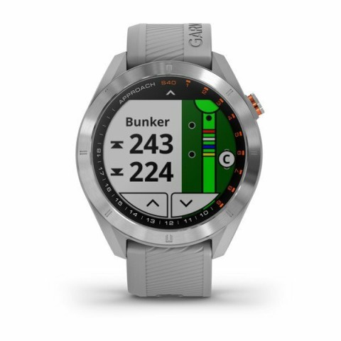 Garmin montre GPS S40 steel finish