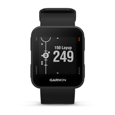 Garmin Montre GPS approach S10 2018 face distance