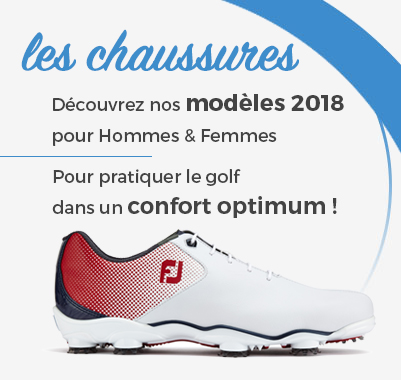 chaussures de golf homme et femme
