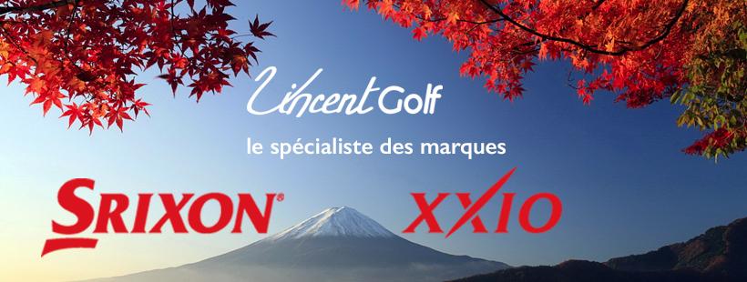 xxio srixon spécialiste vincent golf