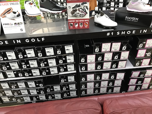 promotions chaussures golf homme
