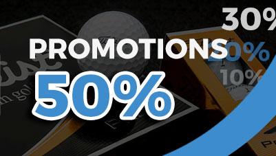 Promotions de golf